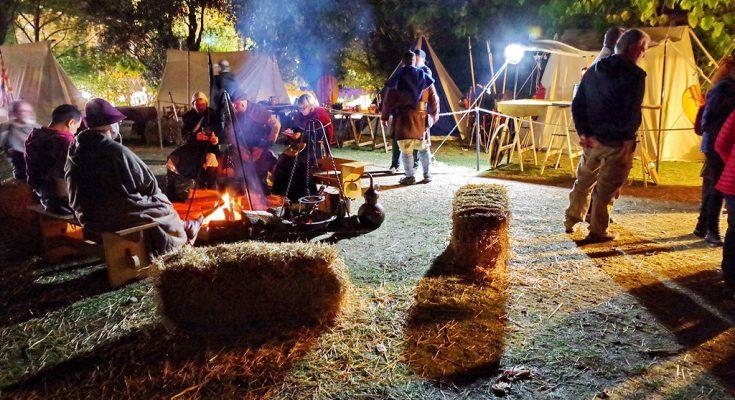 Campament recreació històrica