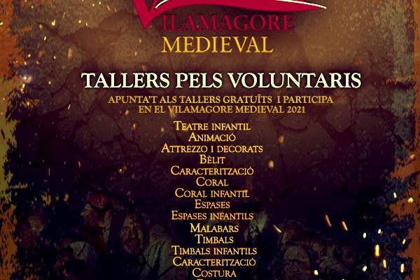 Tallers Vilamagore Medieval 2021